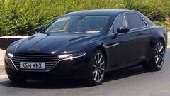 Aston Martin : la limousine Lagonda toute nue