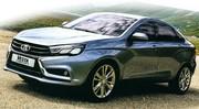 Les concepts Lada Vesta et Xray 2 en avance!