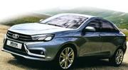 Lada présente ses concept-cars Vesta et Xray 2