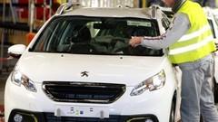 Chômage partiel dans l'usine de production du Peugeot 2008 et des Citroën C4 et DS4
