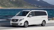 Essai du monovolume de Mercedes : Le Classe V !