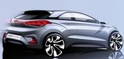 Hyundai esquisse sa future i20 coupé