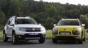 Essai Citroën C4 Cactus vs Dacia Duster : l'essentiel, c'est de participer
