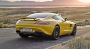 Mercedes AMG GT à turbos intérieurs