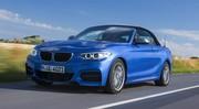 Pleins phares sur la BMW Série 2 Cabriolet