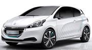 Nouveau concept-car, la Peugeot 208 Hybrid Air