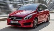 Mercedes Classe B 2014 : mini-restylage pour le Mondial de l'Automobile