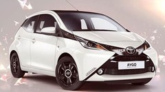 Toyota Aygo en série limitée Rising Star