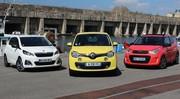 Essai Renault Twingo vs Peugeot 108 vs Citroën C1 : remise à plat ?