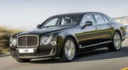 Bentley Mulsanne Speed 2015 : 537 chevaux et un couple camionnesque