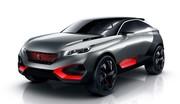Peugeot Quartz avec pierre de basalte