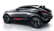 Peugeot Quartz Concept : le Lion part en chasse