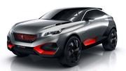Peugeot ose le Quartz, un 4x4 hybride de 500 ch