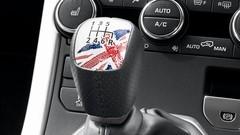 Range Rover Evoque SW1 : Porte-drapeaux