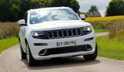 Essai Grand Jeep Cherokee SRT