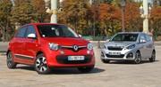 essai Renault Twingo vs Peugeot 108 : le match des petits prix