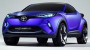 Toyota C-HR Concept 2014 : un Juke bodybuildé à la sauce toy'