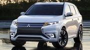 Mitsubishi Outlander PHEV Concept-S, un avant-goût du futur