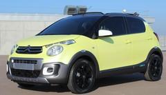 Citroën C1 Urban Ride concept : baroudeuse des villes