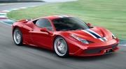 Ferrari : la 458 Speciale Spider à Paris
