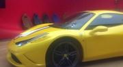 Spyshot : la Ferrari 458 Speciale Spider débusquée
