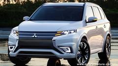 Le très prometteur Mitsubishi Outlander PHEV Concept-S