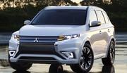 Le Mitsubishi Outlander PHEV Concept-S annonce le futur Outlander