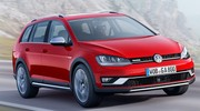 Volkswagen Golf Alltrack : Un break dans la boue