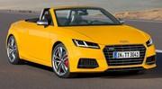 L'Audi TT enlève le haut !