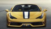 Officielle : la Ferrari 458 Speciale A (pour Aperta)