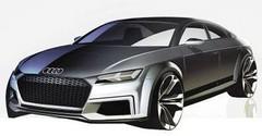 Audi TT Sportback Concept (2014) : premières photos