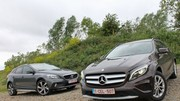Essai Mercedes GLA vs Volvo V40 Cross Country : Soif d'aventures ?