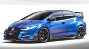 Honda Civic Type R 2015 Concept Paris : Oh la belle bleue