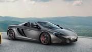 McLaren 625C : Bridée !