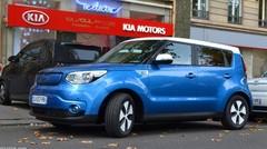 Essai Kia Soul EV électrique à Paris