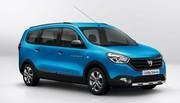 Dacia Lodgy et Dokker Stepway : les tarifs