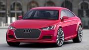 Audi TT Sportback Concept : Paris lui vaut une (grand) messe