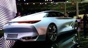 Le concept Infiniti Q80 Inspiration se montre au Mondial de l'Auto