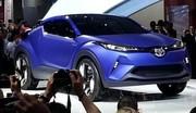 Toyota C-HR Concept, avant-goût de l'anti-Juke