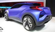 Toyota C-HR Concept : un Juke propre !