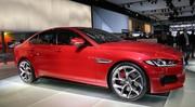 La Jaguar XE, une reine à Paris