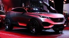 Peugeot Quartz Concept (+ vidéo)