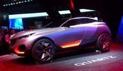 Présentation du concept Quartz de Peugeot