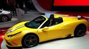 Ferrari lève le voile sur la 458 Speciale A