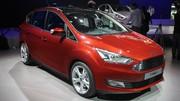Ford C-Max restylé : nouvelle identité