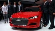 Audi TT Sportback Concept, la berline en mieux !