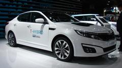 "Kia Optima T-Hybrid Concept: ""plombée"""