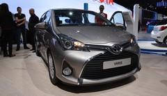 Regard affirmé pour la Toyota Yaris restylée