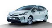 Toyota Grand Prius+ retouchée et mise à jour