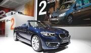 La BMW Série 2 Cabriolet au Mondial de l'auto